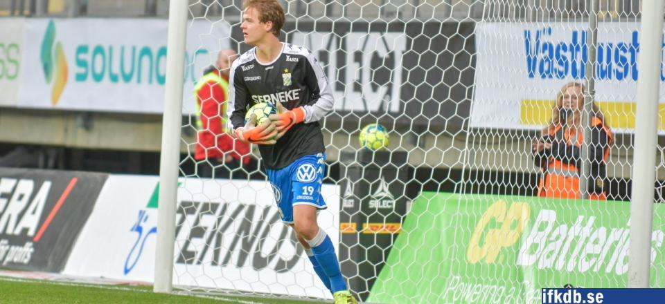 Utespelare som stått i mål för IFK Göteborg
