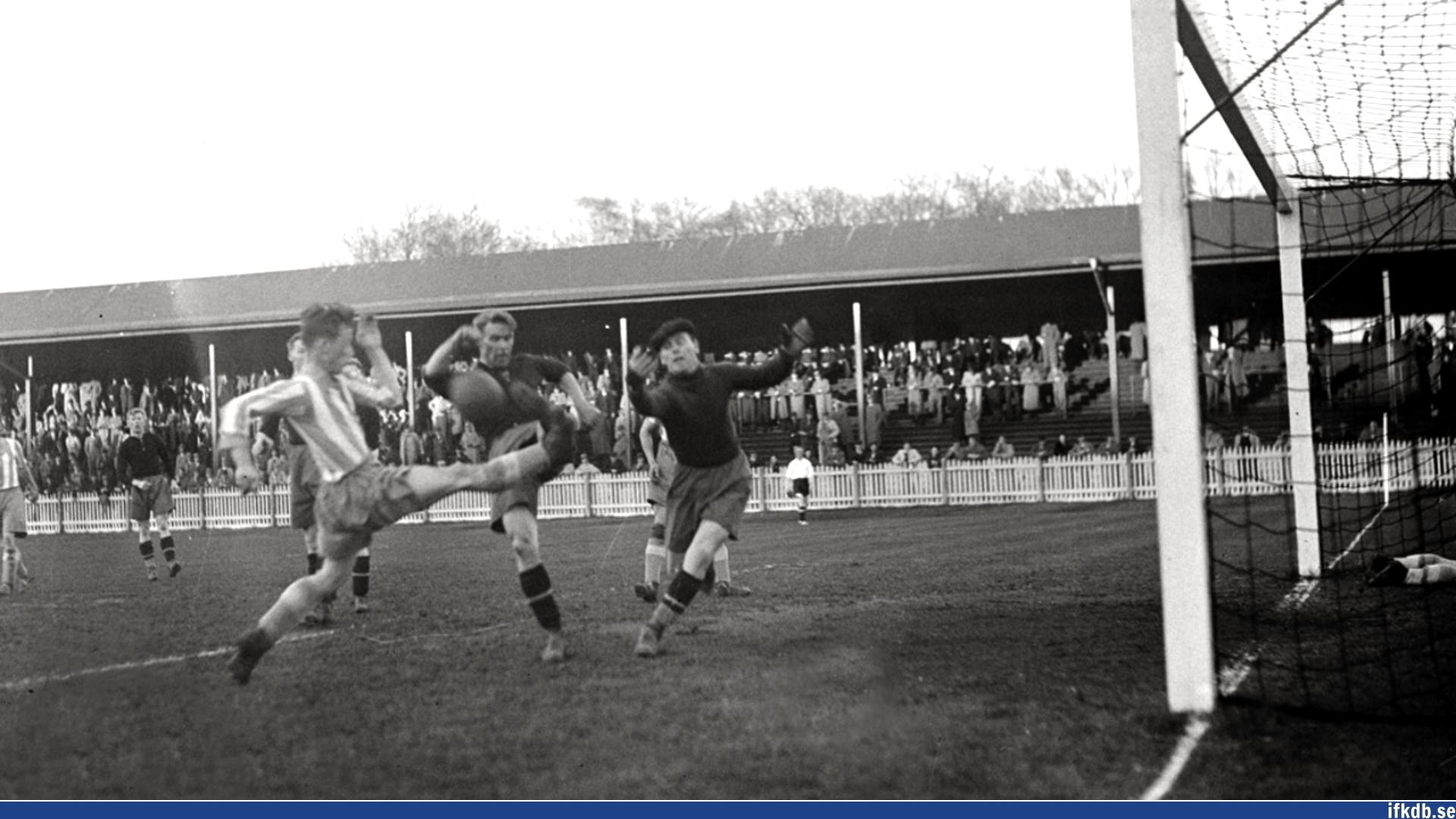 Wednesday 4th of May 1938: Örgryte IS – IFK Göteborg 1–3