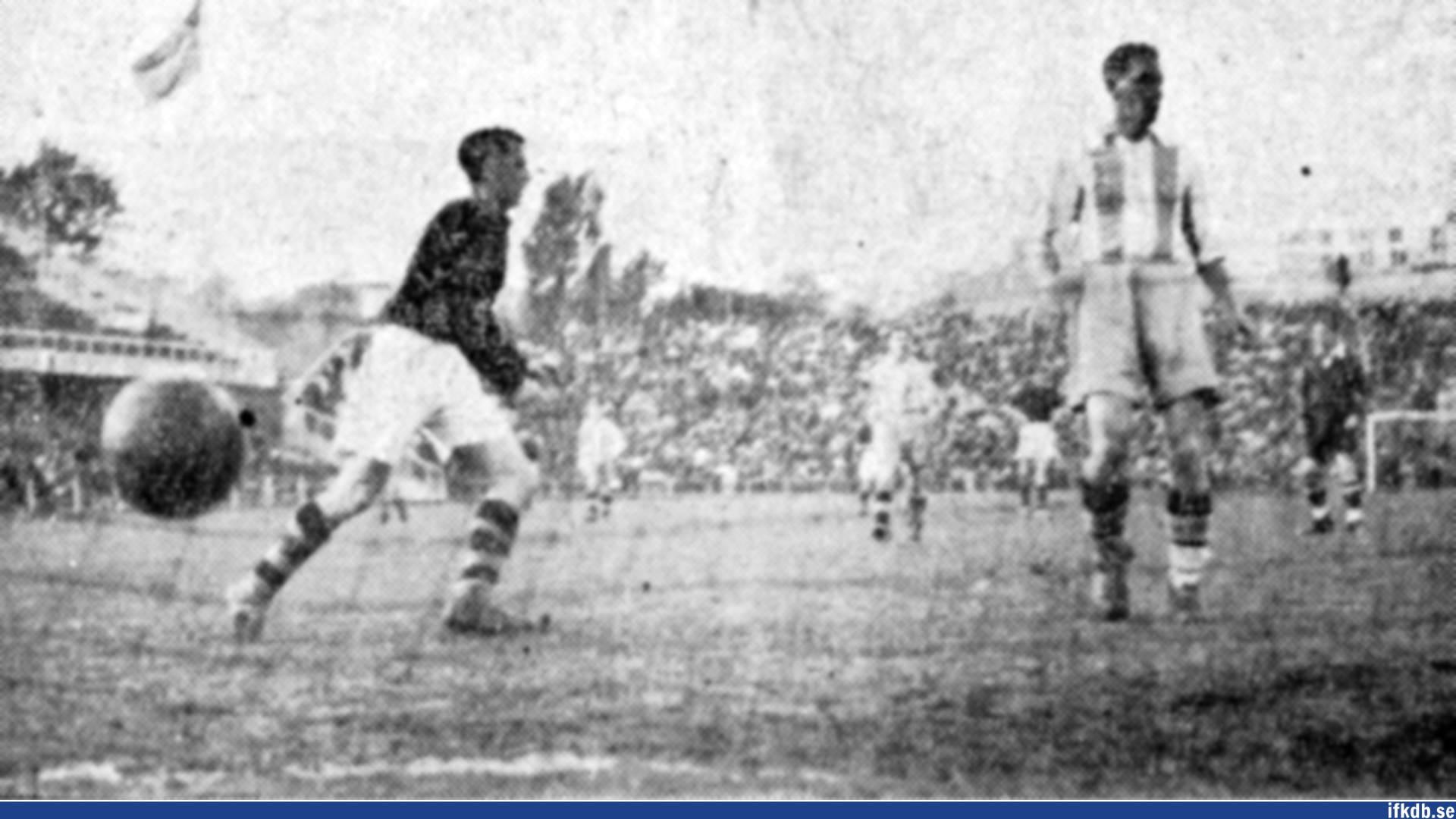 AIK:s 3-0-mål.