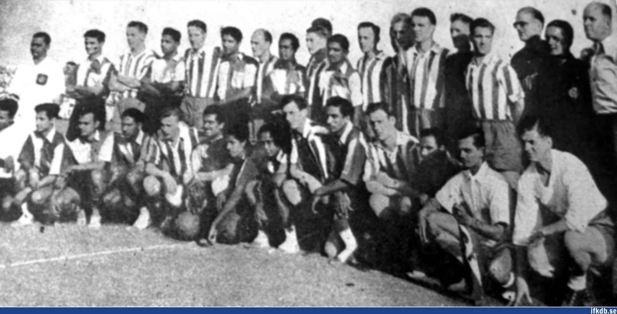 Thursday 22nd of November 1951: East Bengal FC – IFK Göteborg 1–0