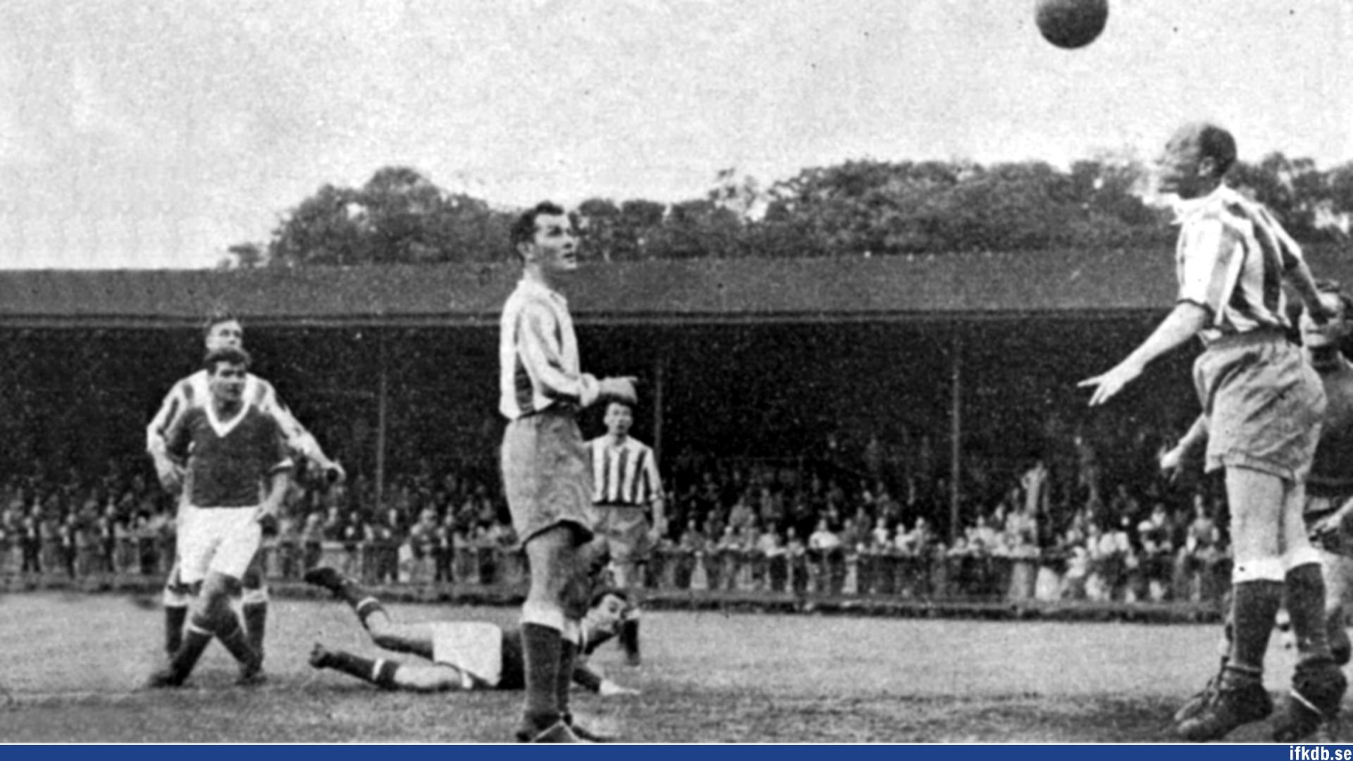 Friday 11th of June 1954: IFK Göteborg – FK Vardar Skopje 3–4
