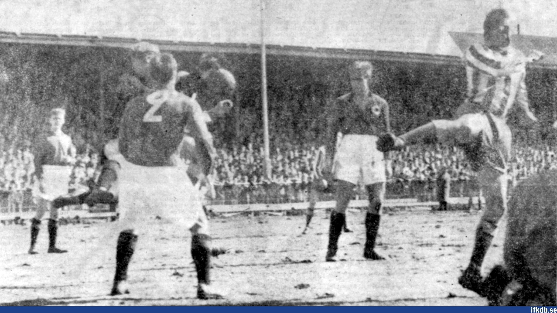 Sunday 8th of April 1956: IFK Göteborg – Degerfors IF 1–0