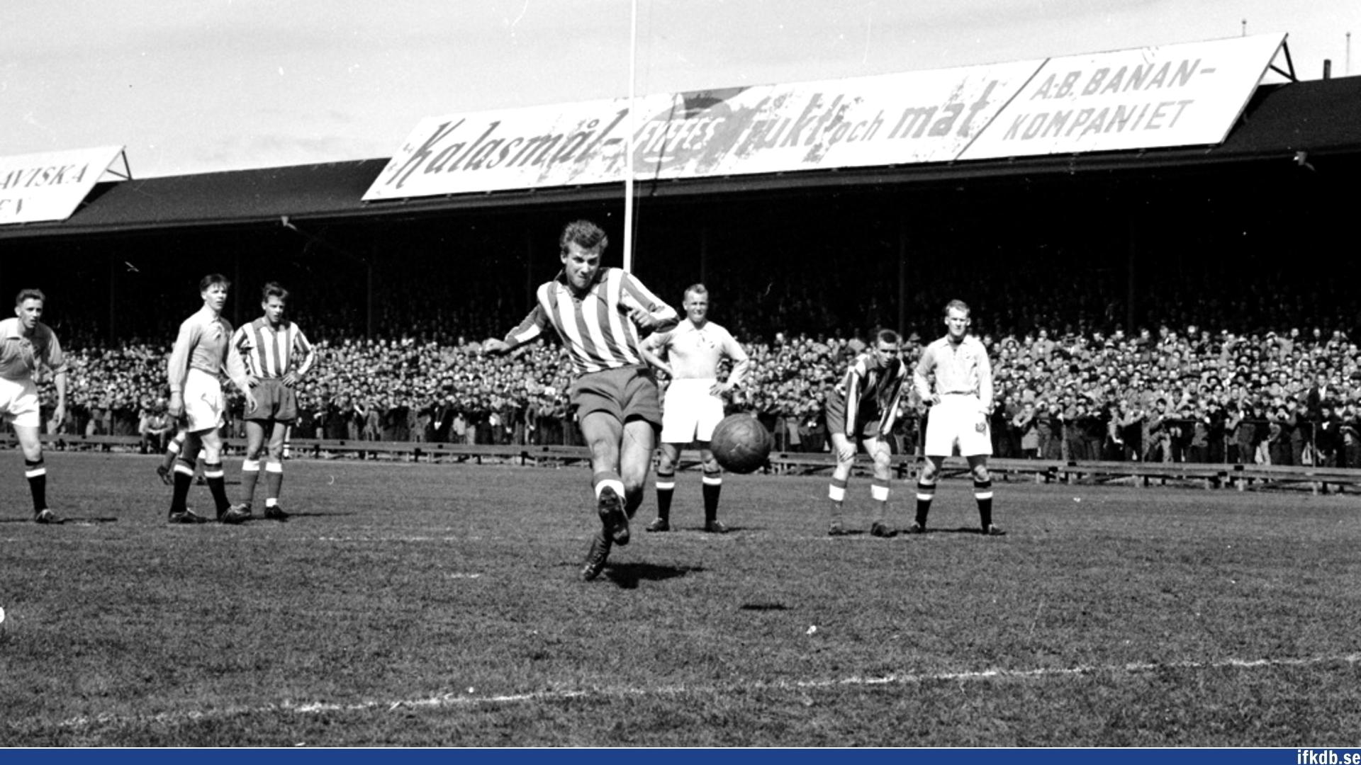 Sunday 4th of May 1958: IFK Göteborg – Halmstads BK 5–1