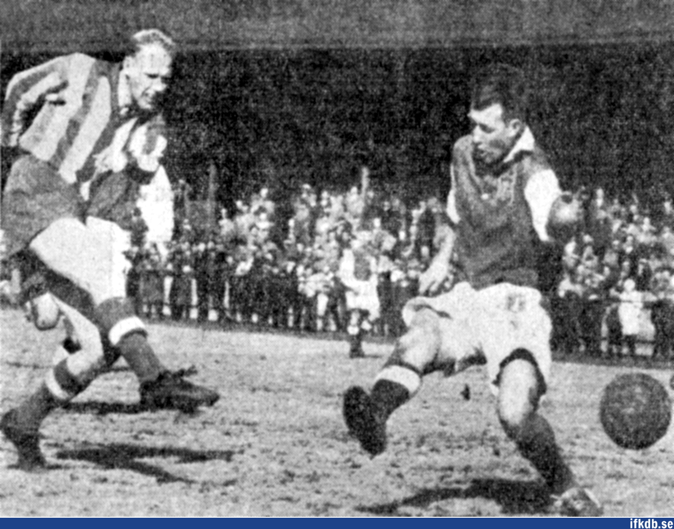 Sunday 23rd of February 1958: IFK Göteborg – Fässbergs IF 8–1