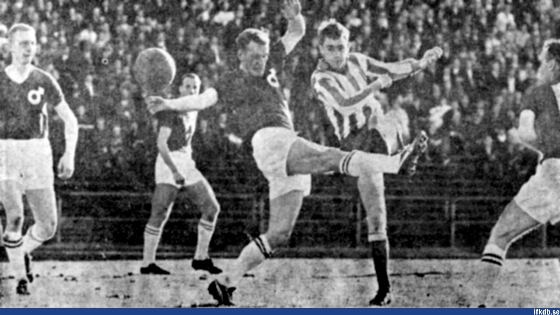 Sunday 23rd of May 1965: IFK Göteborg – Degerfors IF 1–0