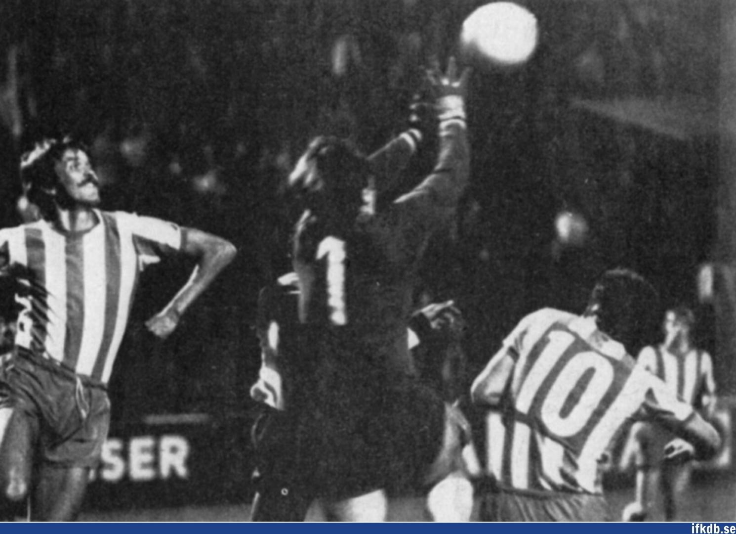 Tuesday 15th of September 1970: IFK Göteborg – Legia Warszawa 0–4