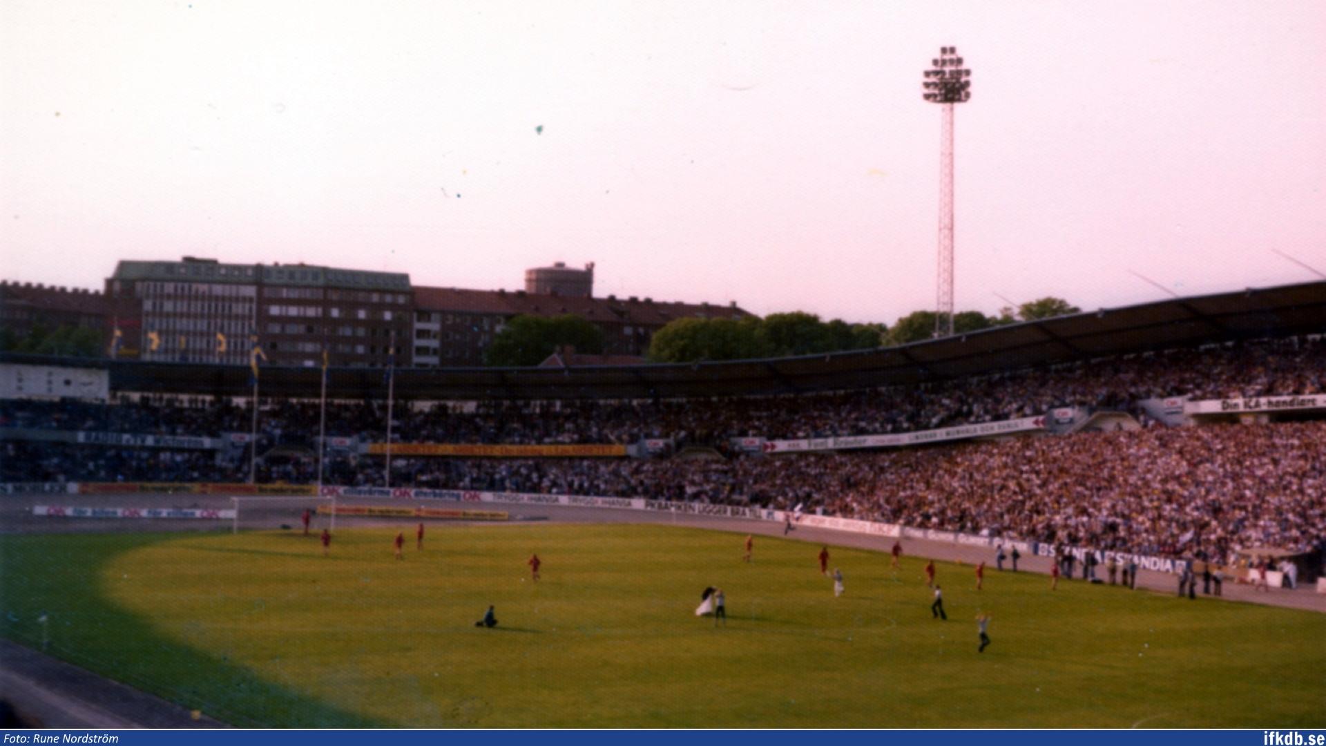 Wednesday 11th of June 1975: IFK Göteborg – Kalmar FF 0–1