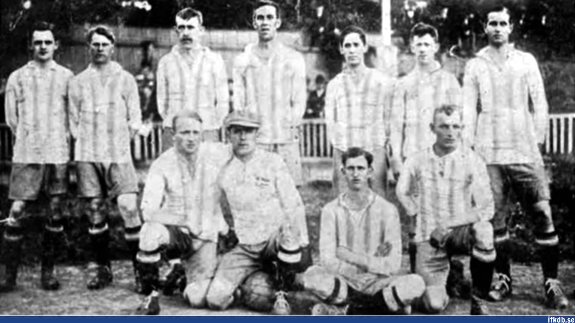 Friday 11th of June 1915: IFK Göteborg – Danmark 1–0