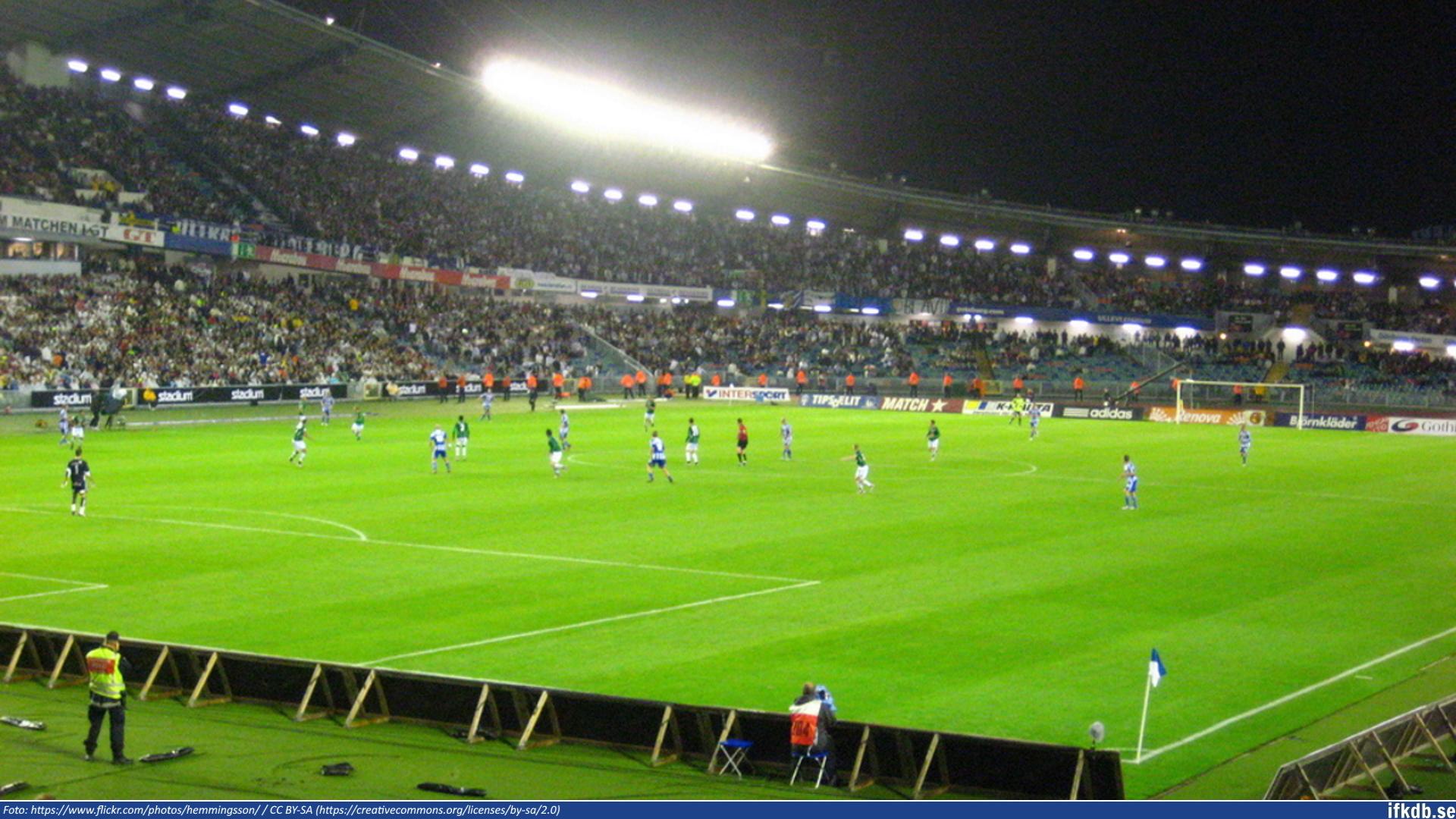 Monday 1st of September 2008: IFK Göteborg – GAIS 0–1