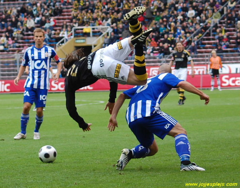 Saturday 13th of September 2008: AIK – IFK Göteborg 0–0