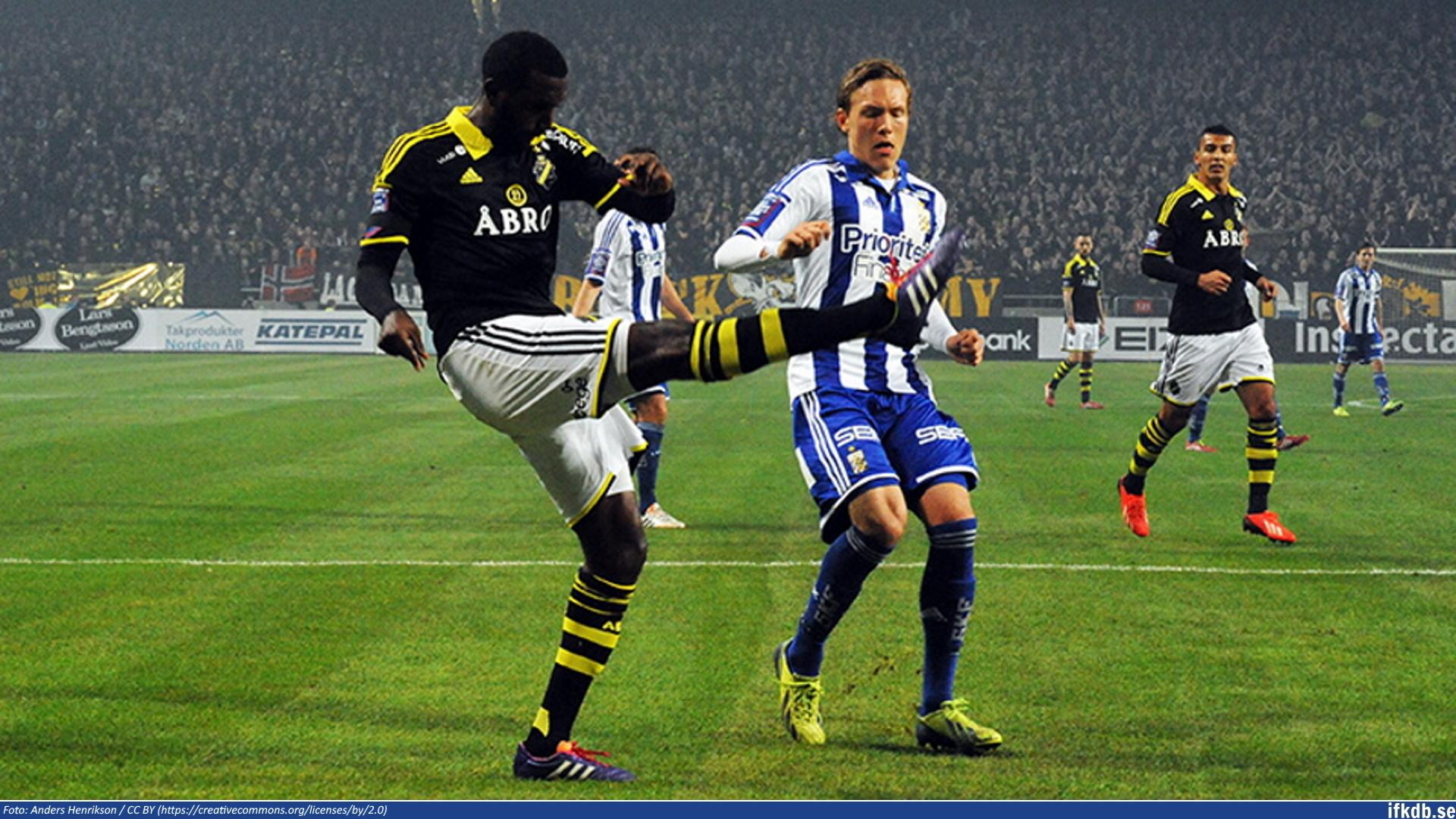 Monday 31st of March 2014: AIK – IFK Göteborg 0–2