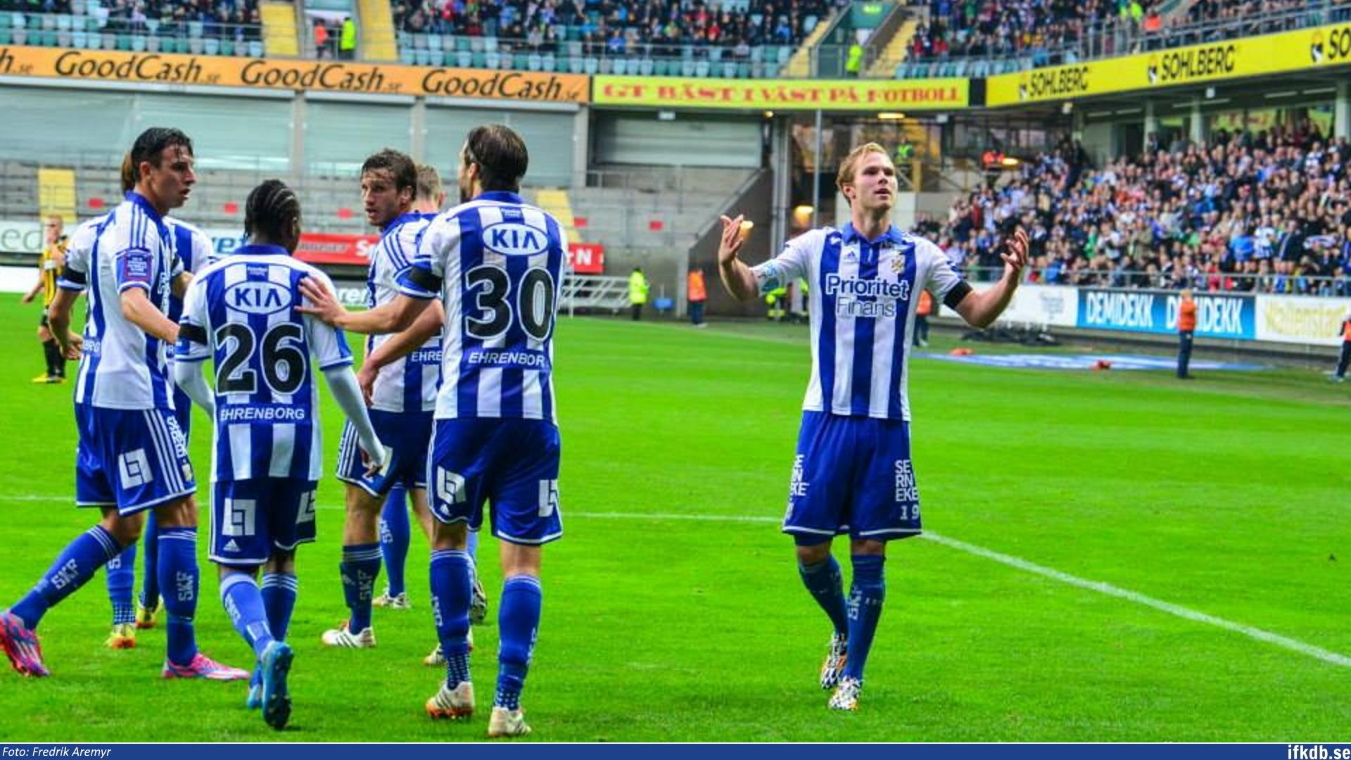 Sunday 19th of October 2014: IFK Göteborg – BK Häcken 3–2