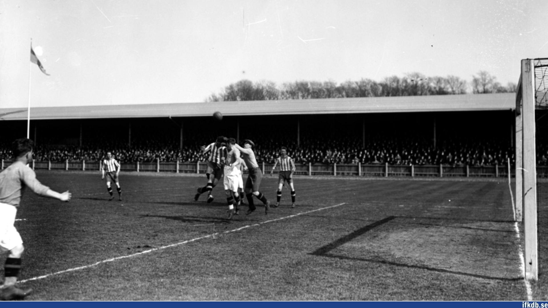 Sunday 8th of April 1928: IFK Göteborg – IFK Eskilstuna 4–2
