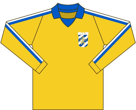Alternativ målvaktströja 1976