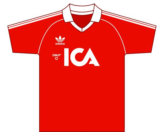 Away kit 1981