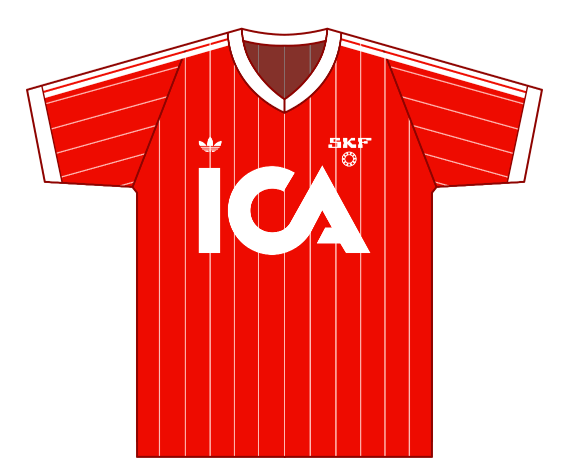 Away kit 1983