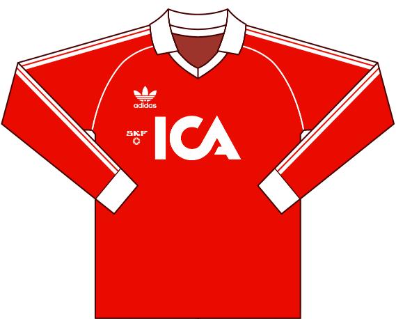 Målvaktströja 1984