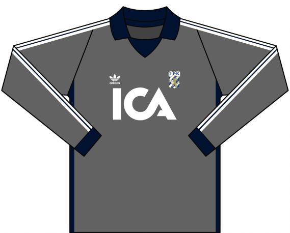 Alternativ målvaktströja 1984
