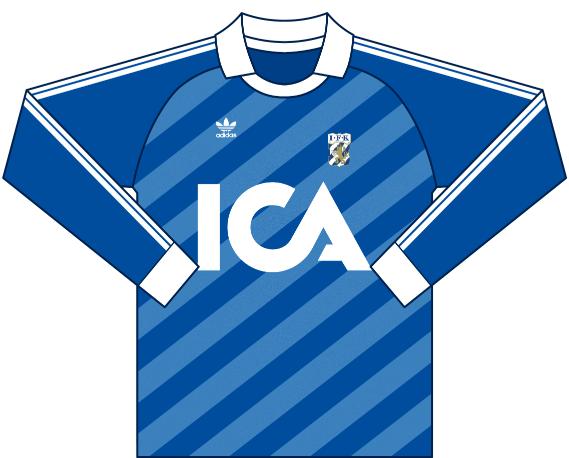 Alternativ målvaktströja 1985
