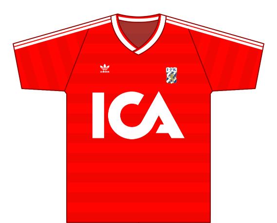 Away kit 1986