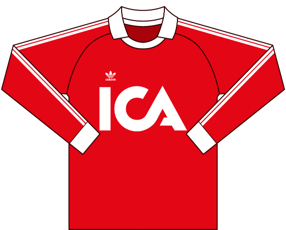 Alternativ målvaktströja 1986