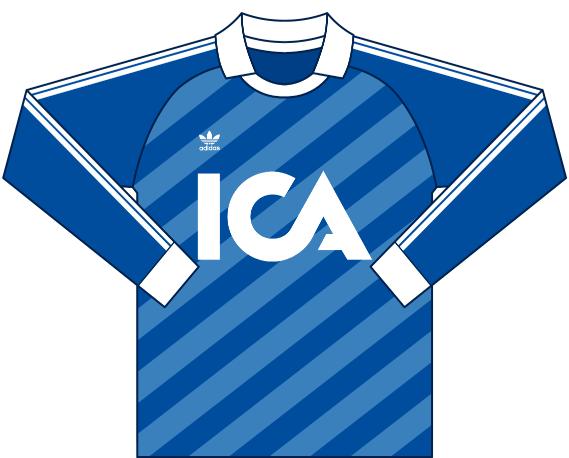 Målvaktströja 1987