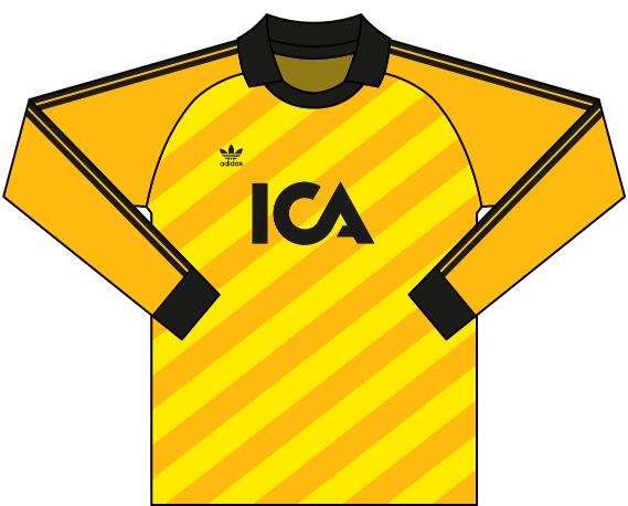 Alternativ målvaktströja 1987