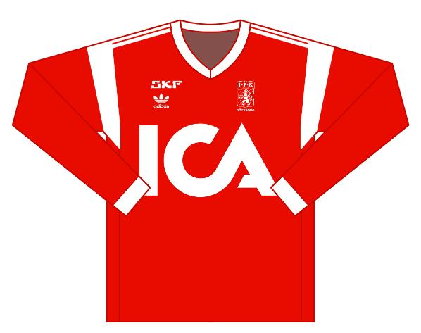 Away kit 1988