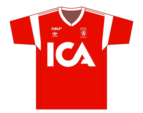 Away kit 1989