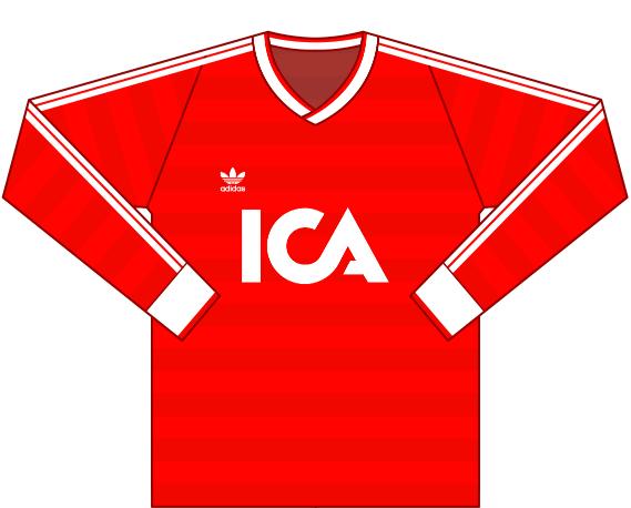 Målvaktströja 1989