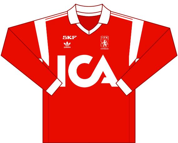 Away kit 1990