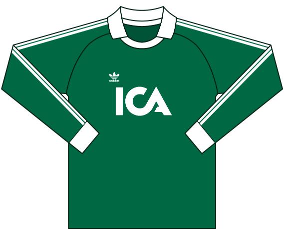 Målvaktströja 1990