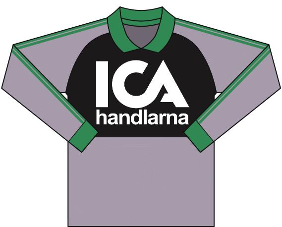 Alternativ målvaktströja 1991