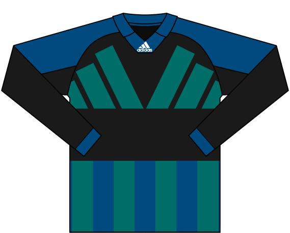 Alternativ målvaktströja 1992