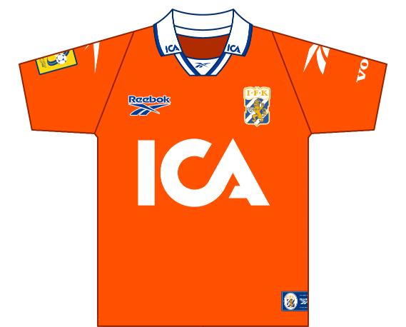 Away kit 1997