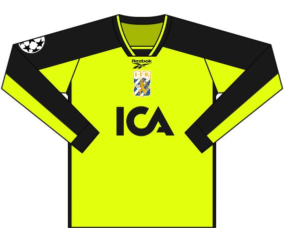 Alternativ målvaktströja 1997