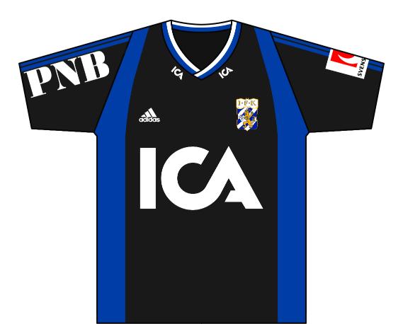 Away kit 2001