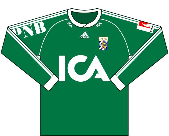 Målvaktströja 2001