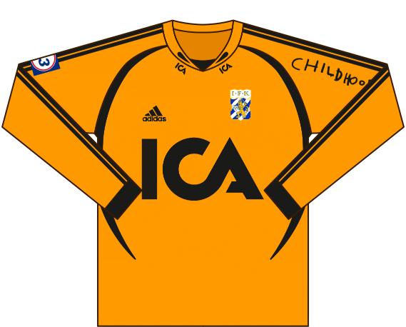 Alternativ målvaktströja 2004