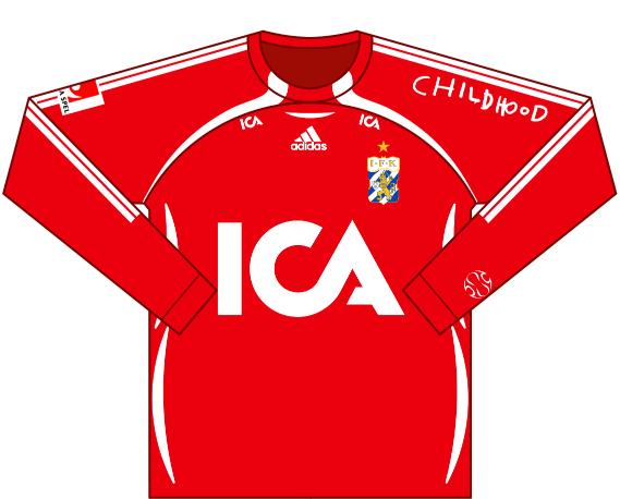 Away kit 2006