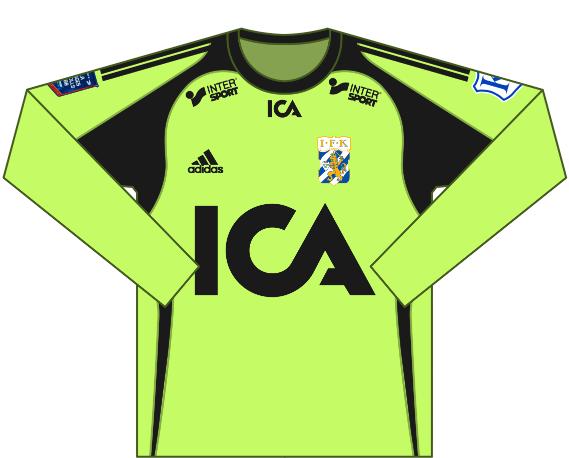 Alternativ målvaktströja 2011