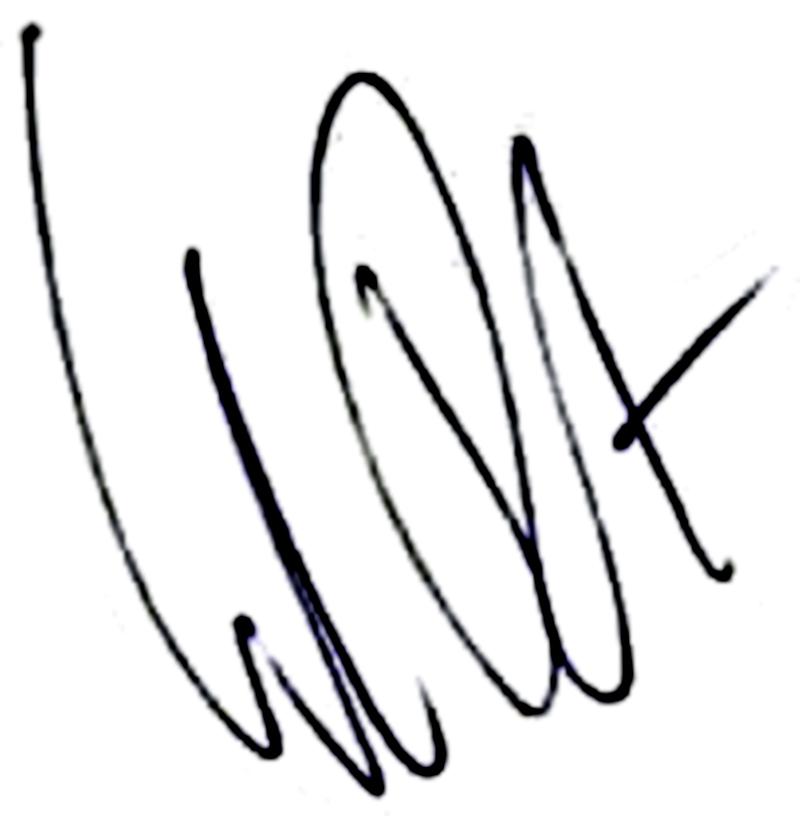 Stefan Bärlin, signatur