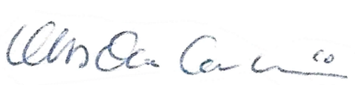Mats-Ola Carlsson, signatur