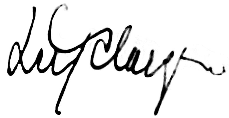 Leif Claesson, signatur