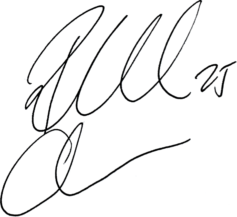 Rickard Claesson, signatur