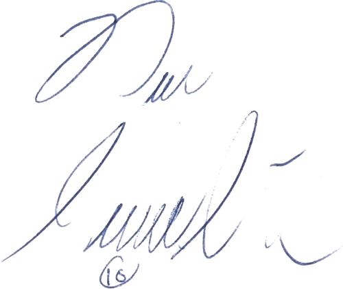 Dan Corneliusson, signatur