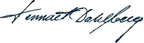 Lennart Dahlberg, signatur
