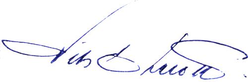 Nils Ekeroth, signatur