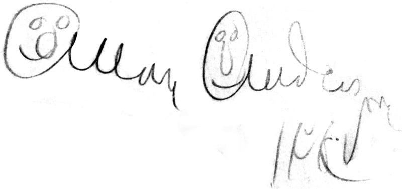 Allan Brufelt (Andersson), signatur