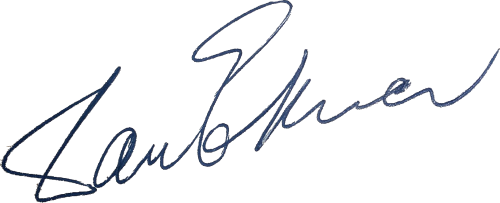 Dan Ekner, signatur
